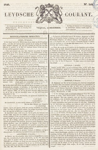 Leydse Courant 1846-12-11