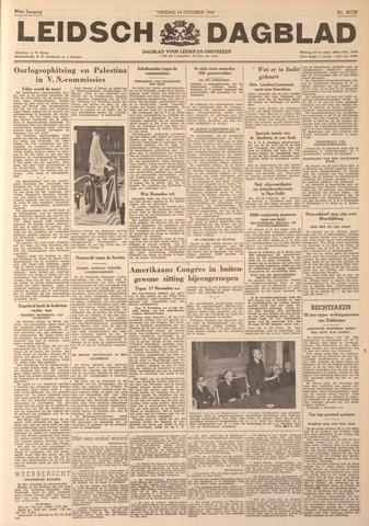 Leidsch Dagblad 1947-10-24