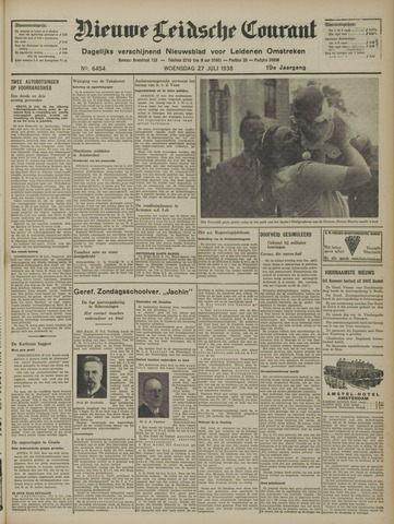Nieuwe Leidsche Courant 1938-07-27