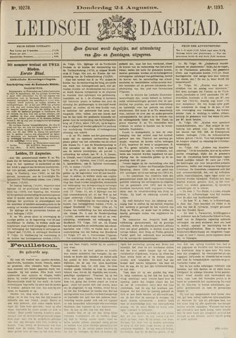 Leidsch Dagblad 1893-08-24
