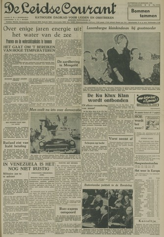 Leidse Courant 1958-01-25