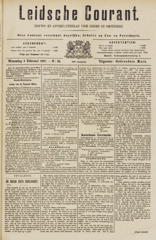 Leydse Courant 1887-02-09