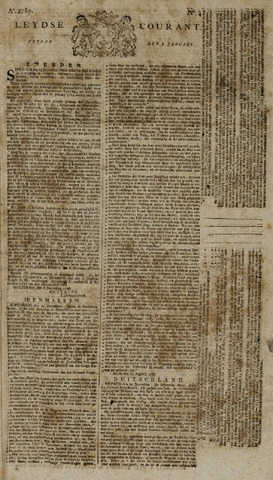 Leydse Courant 1789-01-09
