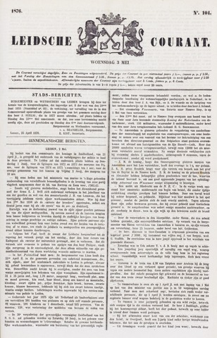 Leydse Courant 1876-05-03