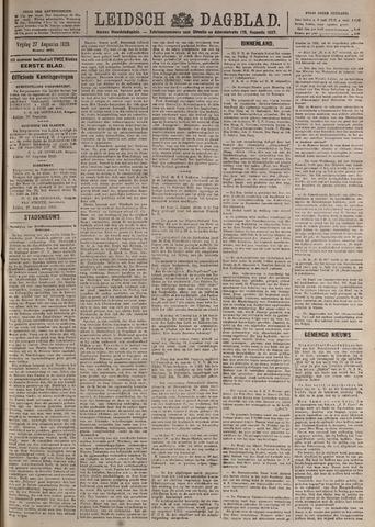 Leidsch Dagblad 1920-08-27