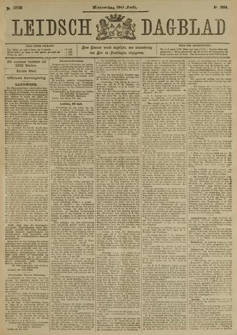 Leidsch Dagblad 1904-07-30