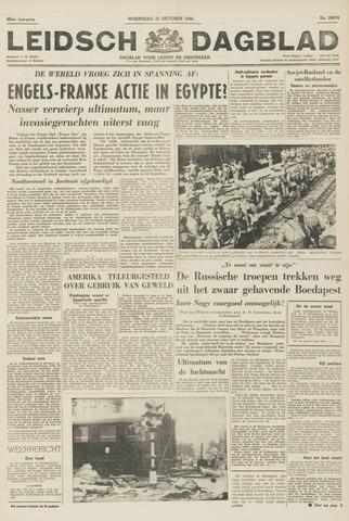 Leidsch Dagblad 1956-10-31
