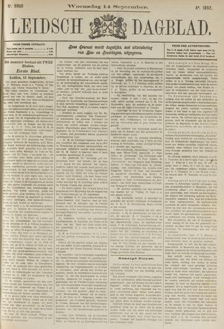 Leidsch Dagblad 1892-09-14