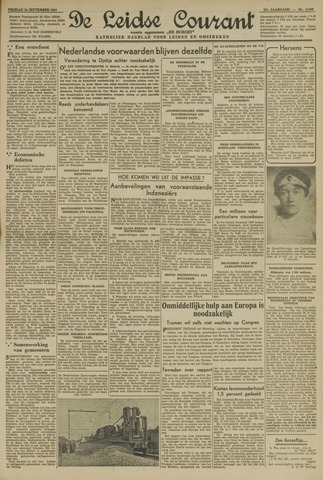 Leidse Courant 1947-09-26