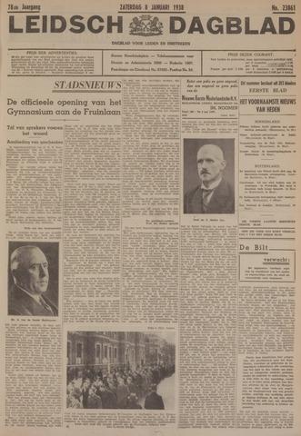 Leidsch Dagblad 1938-01-08