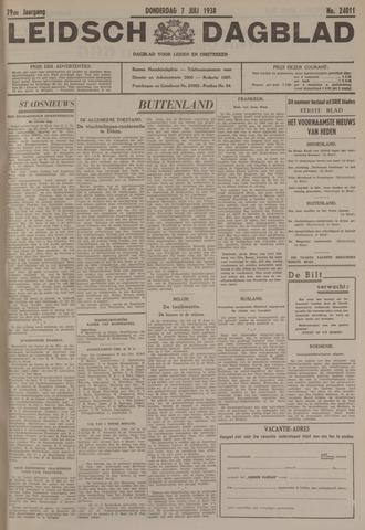 Leidsch Dagblad 1938-07-07