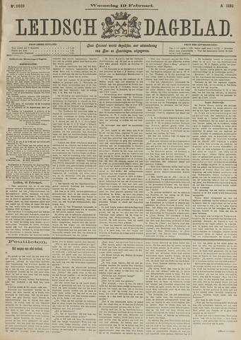 Leidsch Dagblad 1896-02-19