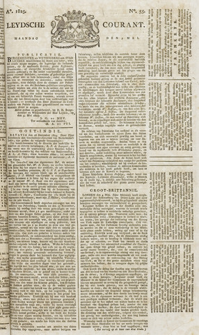 Leydse Courant 1825-05-09