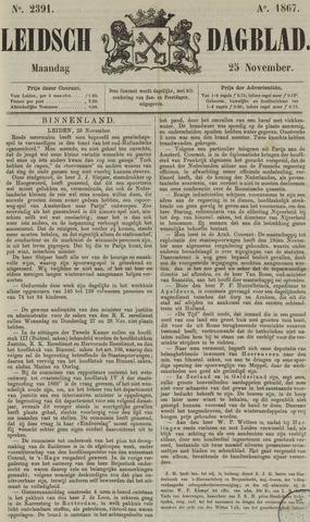 Leidsch Dagblad 1867-11-25