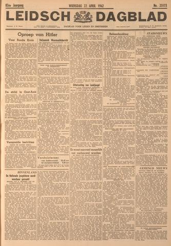 Leidsch Dagblad 1942-04-22