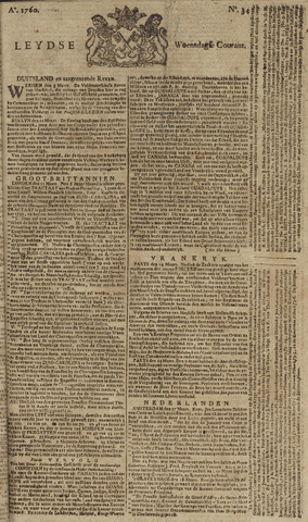 Leydse Courant 1760-03-19
