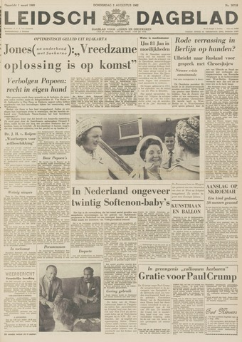 Leidsch Dagblad 1962-08-02