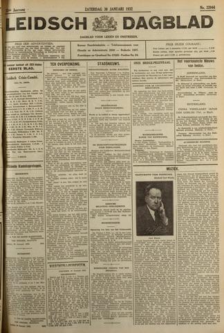 Leidsch Dagblad 1932-01-30