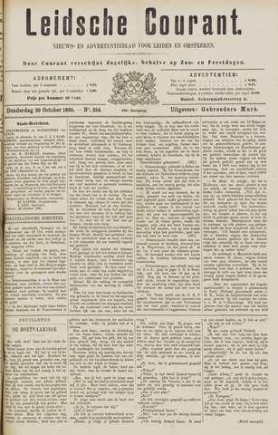 Leydse Courant 1885-10-29