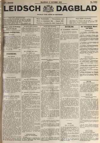 Leidsch Dagblad 1932-10-17