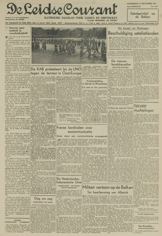 Leidse Courant 1949-09-15