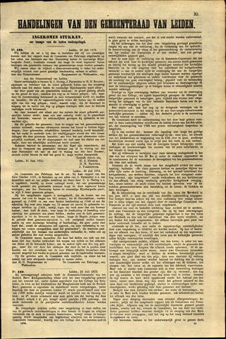 Handelingen van de Raad 1873-07-28