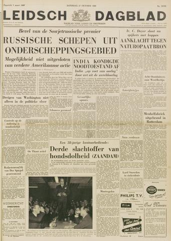 Leidsch Dagblad 1962-10-27