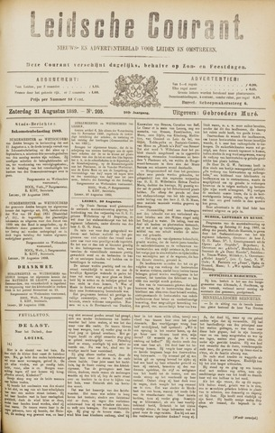 Leydse Courant 1889-08-31