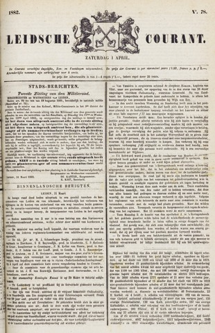 Leydse Courant 1882-04-01