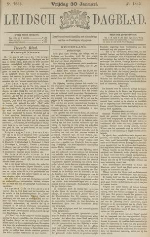 Leidsch Dagblad 1885-01-30