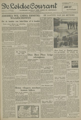 Leidse Courant 1954-04-07