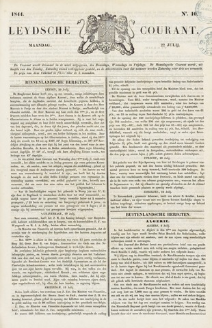Leydse Courant 1844-07-22