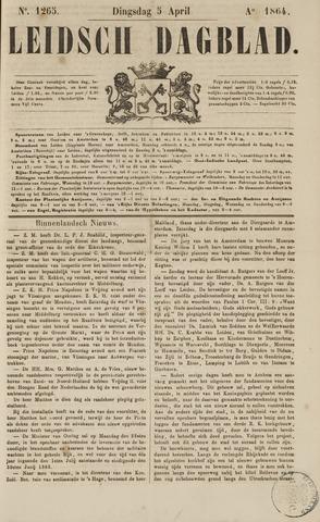 Leidsch Dagblad 1864-04-05
