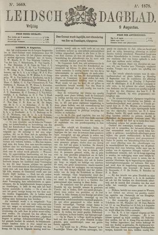 Leidsch Dagblad 1878-08-09