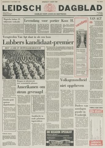 Leidsch Dagblad 1982-10-14