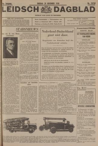 Leidsch Dagblad 1938-11-29