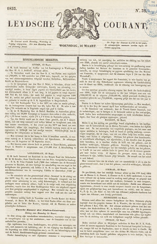 Leydse Courant 1853-03-16
