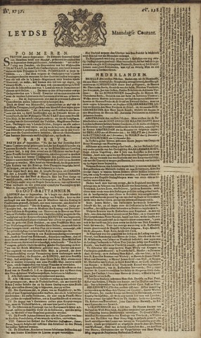 Leydse Courant 1757-10-03
