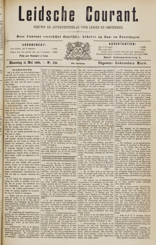 Leydse Courant 1885-05-11