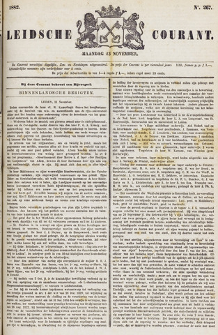 Leydse Courant 1882-11-13