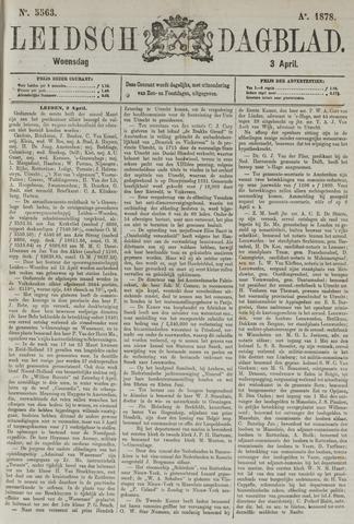 Leidsch Dagblad 1878-04-03