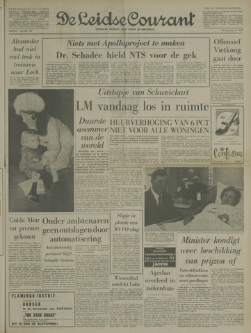 Leidse Courant 1969-03-07