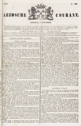 Leydse Courant 1873-11-11