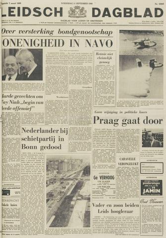 Leidsch Dagblad 1968-09-11