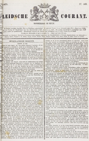 Leydse Courant 1871-07-13