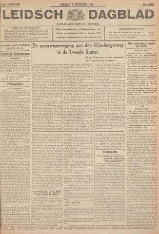 Leidsch Dagblad 1928-12-07