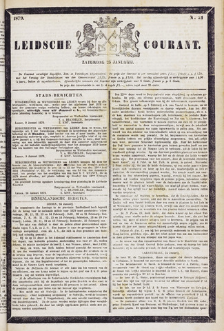 Leydse Courant 1879-01-25