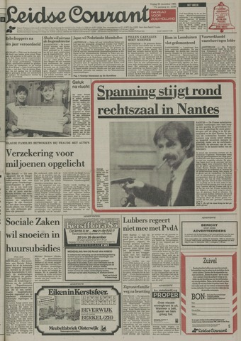 Leidse Courant 1985-12-20