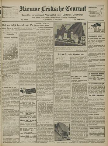 Nieuwe Leidsche Courant 1938-07-21