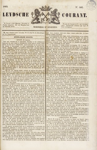 Leydse Courant 1862-08-27